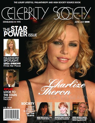 Celebrity Society Magazine Cover, June 2008