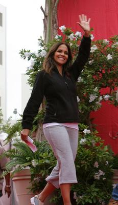Halle Berry at the Revlon Run