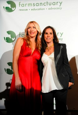 Heather Mills and Melissa Rivers
