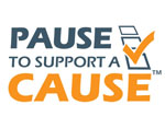 Pause to Support a Cause