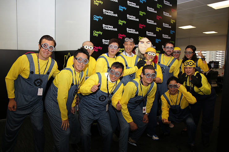 Tradebook Staff as Minions
