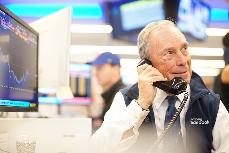 Michael R. Bloomberg Making Calls