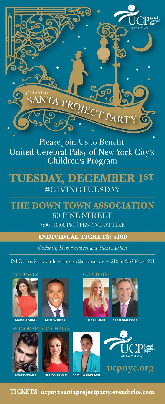 UCP of NYC's 2015 Santa Project Party