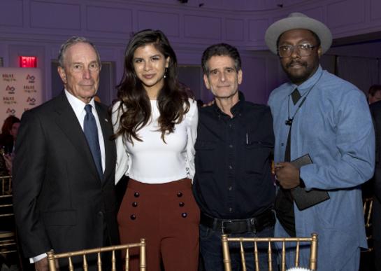 Michael R. Bloomberg, Diana Lee Guzman, Dean Kamen, and will.i.am