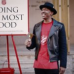 Nick Cannon Supports The Salvation Army Giving Spree Contest
