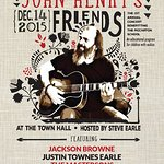 Steve Earle To Host Benefit Show