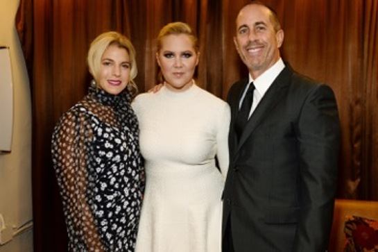 Jessica Seinfeld, Amy Schumer and Jerry Seinfeld