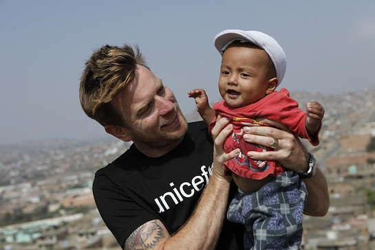 Ewan McGregor and UNICEF