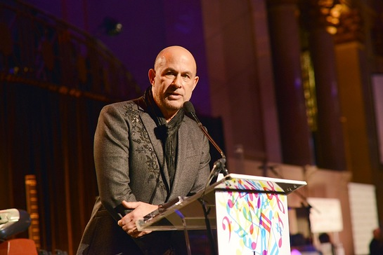 John Varvatos at Collaborating for a Cure Benefit Dinner and Auction