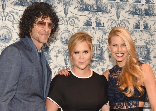 Howard Stern, Amy Schumer and Beth Stern at the North Shore Animal League America 2015 Gala