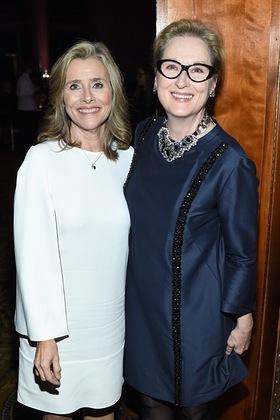 Meryl Streep with Meredith Vieira