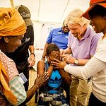 Richard Branson Delivers Gift Of Hearing In Kenya And South Africa