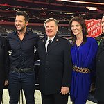 Luke Bryan Performs To Kick Off Red Kettle Campaign