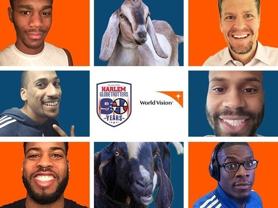 World Vision and Harlem Globetrotter's Goatee for a Good Cause Campaign