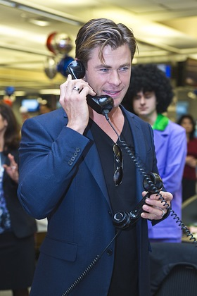 Chris Hemsworth - ICAP Charity Day 2015