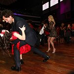 Maksim Chmerkovskiy And Peta Murgatroyd Attend Winter Wonderland Ball