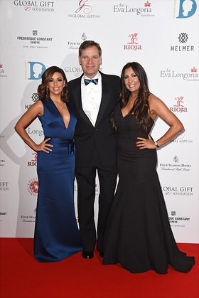 Eva Longoria, Peter Stas and Maria Bravo