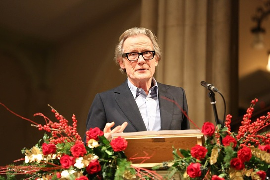 Bill Nighy at Nordoff Robbins Carol Service