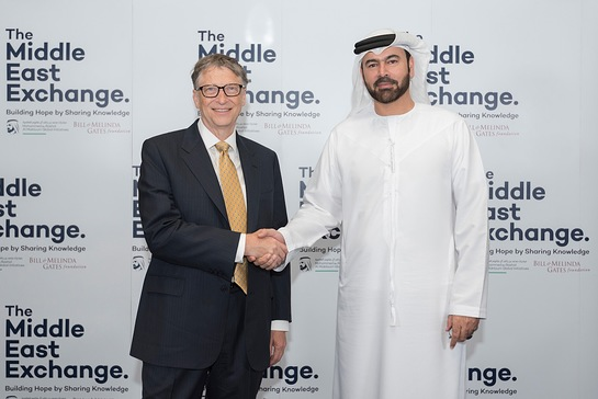 UAE Minister of Cabinet Affairs His Excellency Mohammed Al Gergawi discussed the project at a meeting with Bill Gates