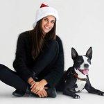 Models Bring Holiday Cheer To ASPCA Adoptable Animals