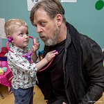 Mark Hamill Visits Great Ormond Street Hospital