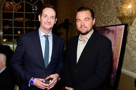Leonardo DiCaprio Attends BAFTA Los Angeles Tea Party