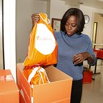 Viola Davis Helps Pack Healing Kits For Families In Need