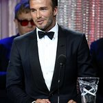 David Beckham Honored With Danny Kaye Humanitarian Leadership Award At UNICEF Ball