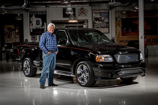 Ford and Jay Leno are teaming up to auction the TV legend's personal one-of-one 2000 Harley-Davidson F-150