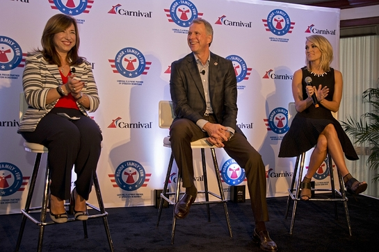 Carnival Cruise Line, Operation Homefront and Carrie Underwood announce partnership (Andy Newman)