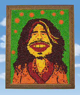 Steven Tyler Skittles Portrait