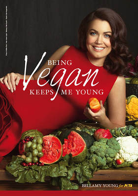 Bellamy Young PETA Ad
