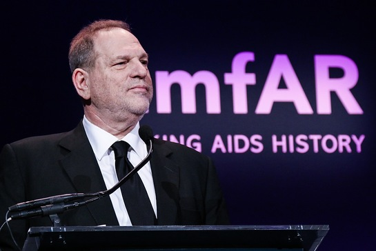 Harvey Weinstein Honored At amfAR's New York Gala
