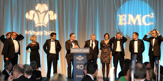 The Prince's Trust and EMC Leadership Dinner