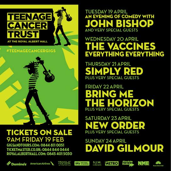 Teenage Cancer Trust At The Royal Albert Hall 2016