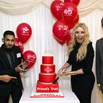 Carol Vorderman Visits House Of Commons For Prince's Trust