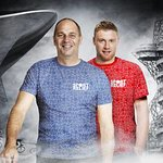 Sir Steve Redgrave And Freddie Flintoff Clash For Sport Relief