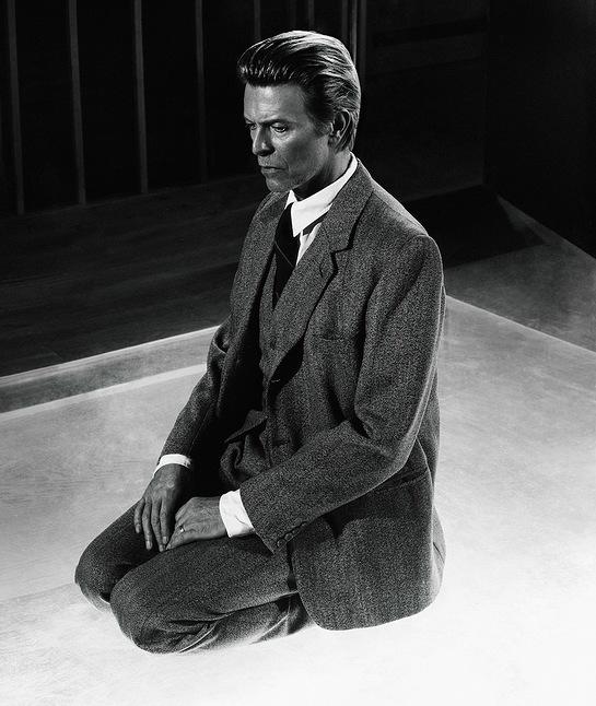 Rare Photo of David Bowie