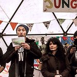 Jude Law Takes To The Stage At Refugee Camp In France