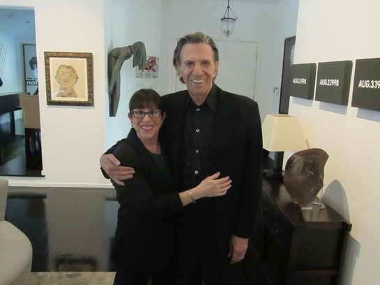 Julie Nimoy with her father Leonard Nimoy