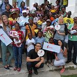 Smile Train's Celebrity Supporters Visit Hospital in Haiti