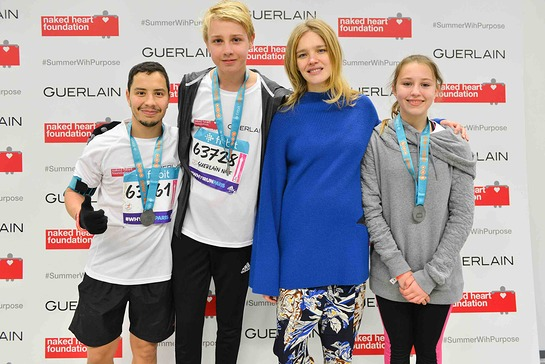 Natalia Vodianova Greats Team Members At Paris Half Marathon