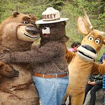 Open Season: Scared Silly Characters Join Smokey Bear To Promote Campfire Safety