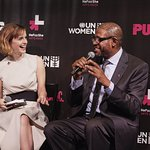 Emma Watson And Forest Whitaker Help Launch HeForShe Arts Week