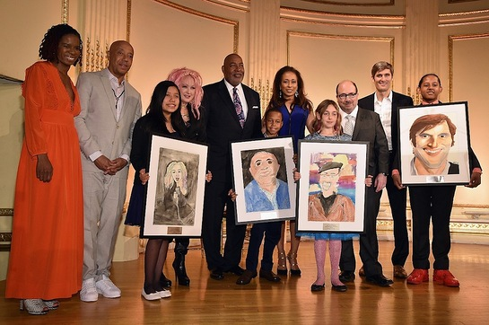 RUSH HeARTS Education Luncheon Honorees and Artists
