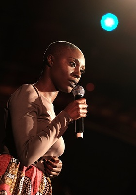 Laura Mvula Perfroms at Conservation International's 20th Annual Los Angeles Gala Dinner
