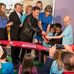 Taylor Swift Helps Ryan Seacrest Open Studio At Children's Hospital
