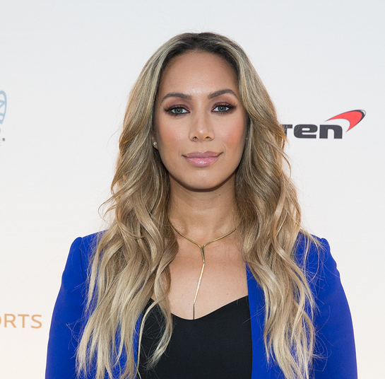 Leona Lewis Walks The Blue Carpet At One Night for One Drop
