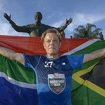 Eddie Izzard Completes Marathon Charity Challenge