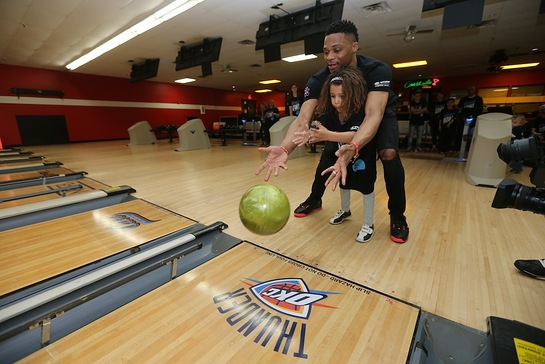 Russell Westbrook hosted the 6th Annual Why Not? Bowl